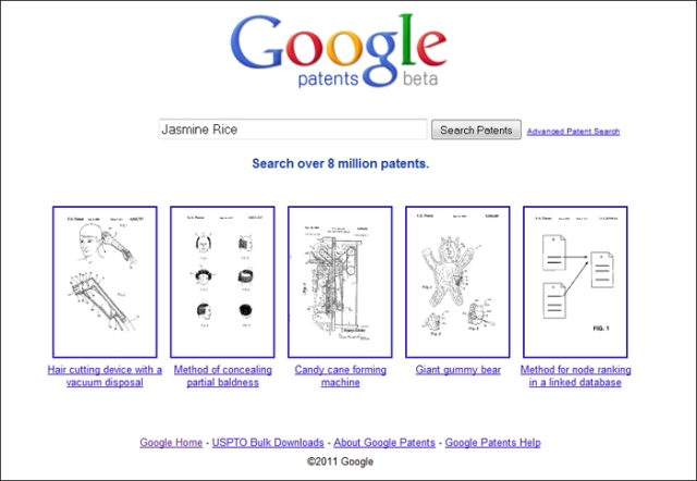รูปที่ ๕ : Google Patents