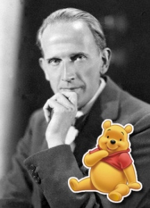 NPG x19561; A.A. Milne by Howard Coster